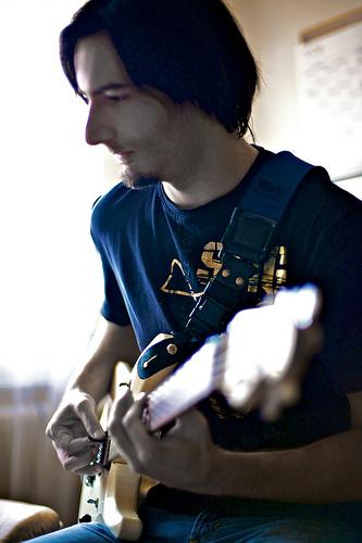 Tiphaine guitariste passionné - guitare électrique